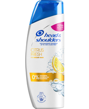 head&shoulders 250ml Citrus Fresh shampoo