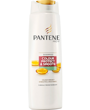 Pantene 250ml Colour Protect&Smooth Shampoo