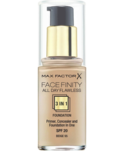 Max Factor Facefinity All Day Flawless 3in1 Foundation 55 Beige