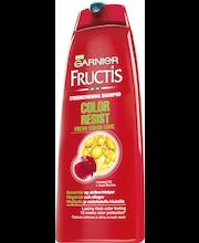 Garnier Fructis 250ml Color Resist Shampoo värjätyille ja raidoitetuille hiuksille