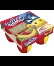 Danone Danonino Duo 4x90g mansikka-banaani hedelmärahka