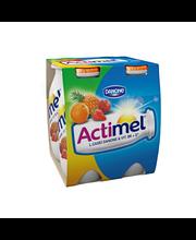 Danone Actimel tehojuoma 4x100g eksoottiset hedelmät