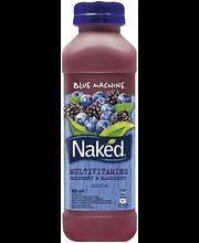 Naked 450ml blue machine mehujuoma