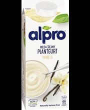 Alpro 750g Pehmeän täyteläinen vanilja soijavalmiste
