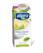 Alpro 750g Pehmeän täyteläinen lime-sitruuna soijavalmiste