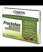Fructolax Turvotus 12kpl/120g kuiturikasta hedelmäkuutiota