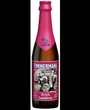 Timmermans 25cl Kriek Lambicus 4% pullo Olut