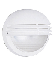 BOSTON wall lantern white 1x60W 230V