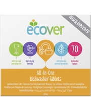 Ecover 1,4kg konetiskitabletti All-in-One 70kpl