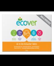 Ecover 500g Konetiskiainetabletit All-in-One 25kpl
