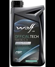 Wolf 5W-5W-30 C3 Official Tech moottoriöljy 1 L