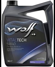 Wolf 5W-40 Vital Tech moottoriöljy 4 L