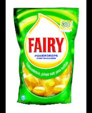 Fairy 30 tabl. Powerdrops sitruuna konetiskiaine