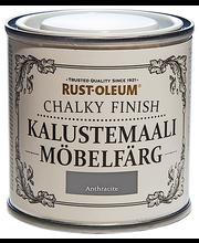 Rust-Oleum Chalky Finish 125ml kalustemaali runsaspigmenttinen hajuton vesiohenteinen harmaa