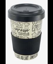 Point-Virgule bambukuitu 500 ml Coffee matkamuki