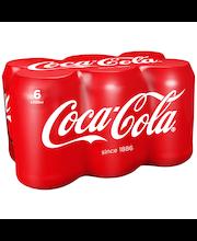 Coca-Cola 33 cl tlk 6P virvoitusjuoma