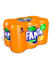 Fanta Appelsiini 33 cl tlk 6P virvoitusjuoma