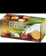 Breton 112g basilika&oliiviöljy voileipäkeksi
