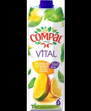 Compal Vital Mango-Appelsiininektari 1L