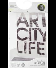 Suihkuverho art city