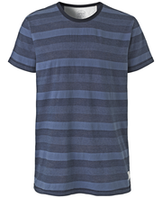 Cottonfield Kirkby miesten raidallinen t-paita