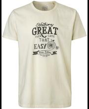 Cottonfield Zeuss miesten printti t-paita