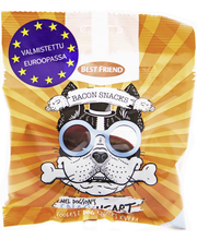BF Mel Dogson´s Snackheart 60g bacon snacks