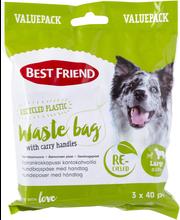 BF Gear koiran kakkapussi L säästöpakkaus 3 x 40 kpl