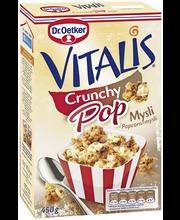 Dr. Oetker Vitalis 450 g Crunchy Pop mysli