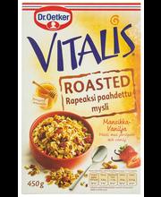 Vitalis 450 g Roasted Mansikka-Vaniljamysli