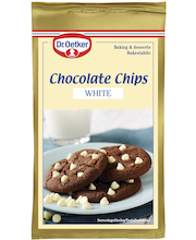 Dr. Oetker 100g White Chocolate Chips