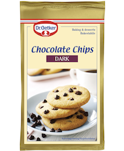 Dr. Oetker 100g Dark Chocolate Chips