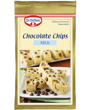 Dr. Oetker 100g Milk Chocolate Chips