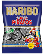 HARIBO Super Piratos 57g salmiakki