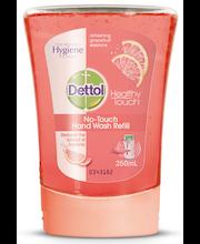 Dettol 250ml Grapefruit No Touch nestesaippua täyttö