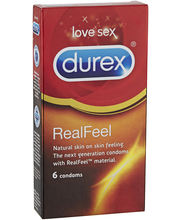 Durex 6kpl Real Feel Lateksiton kondomi