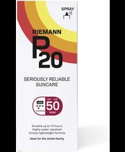 P20 100ml SPF50 spray