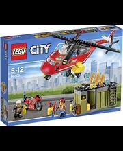 LEGO City Fire 60108 Palokunnan ensivasteyksikkö
