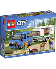 LEGO City Great Vehicles 60117 Pakettiauto ja asuntovaunu