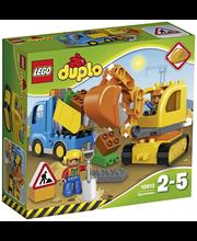 LEGO DUPLO Town 10812 Auto ja telakaivuri