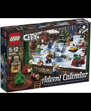 60155 lego city joulukal