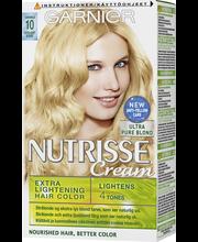 Garnier Nutrisse 10 Kirkas Luonnonvaalea hiusväri