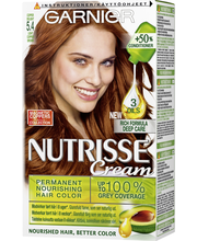 Garnier Nutrisse 5.4 Copper Delight Light Copper Brown Kuparinruskea