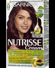 Garnier Nutrisse  3.6 Syvä Tumma Punaruskea