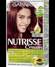 Garnier Nutrisse  4.6 Syvä Tummanpunainen