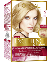 L'Oréal Paris Excellence Creme 9 Very Light Blonde Vaalea Kestoväri