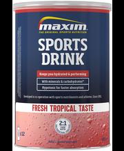 Maxim 480g Sports Drink Fresh tropical hedelmänmakuinen urheilujuomajauhe