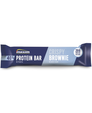 Maxim 50g Crispy Brownie 40% Protein Bar