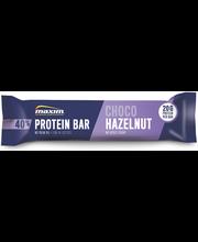Maxim 40% Protein bar low in lactose Choco Hazelnut Suklaan- ja hasselpähkinänmakuinen vähälaktoosinen proteiinipatukka 50g