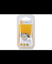 QNECT IEC antenniliitin metalli uros